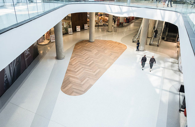 Flowcrete Raises the Flooring BenchMARC at New Sandton Mall