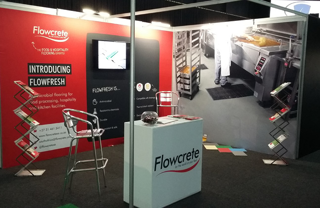 Flowcrete Showcases Resin Flooring at the Food & Hospitality Exhibition